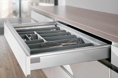 Инновационные системы Profi+ в кухнях Nobilia 1